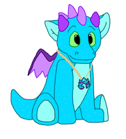 Dash the Dragon- Final Design x3 by Sooty123