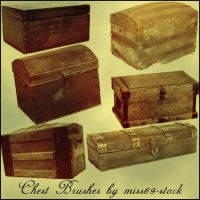 Closed Chest Brushes by miss69-stock