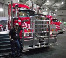 Me and the Kenworth T909 by RedtailFox