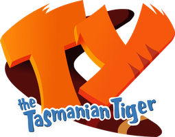 'Ty The Tasmanian Tiger' Logo Recreation Render by KanesTheName