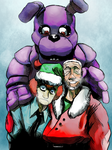 Seasons Greetings from the Fazbear Crew by BrianXKaren