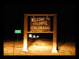 Welcome to Colorado by manwithashadow