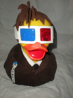 Large Tenth Ducktor Who Duck by Oriana-X-Myst