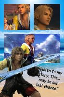 Final Fantasy wallpapers~Tidus by Emeraldfire131
