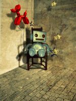 Lonely Robot -2007- by kimobo