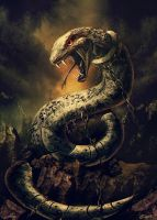 Nidhogg Tearer of Corpses by GENZOMAN