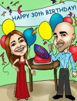 Caricature h 081112 by raccoon-eyes