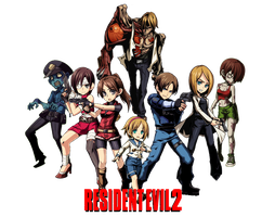 Resident Evil 2 by juniorbunny