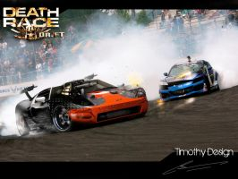 Ford GT Death Race Drift by Adry53