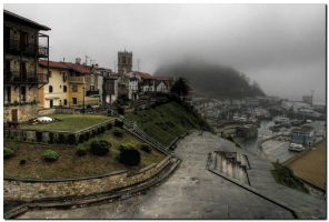 Rainy Getaria by kiebitz