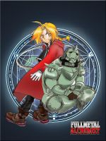 Edward and Alfonso from FMA by I-Dont-Draw