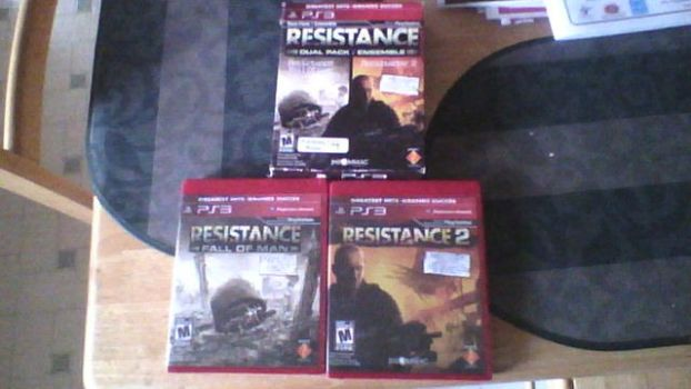 Resistance Dual Pack For PS3 by ComannderrX