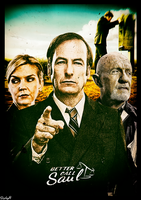 Better Call Saul - Poster by iEanderful