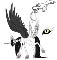 Death Pony entry for contest by dibXvexl
