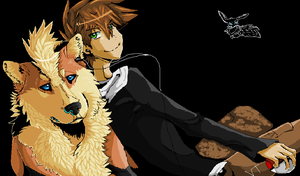 Green n Arcanine by Electrical--Volttail
