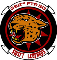 392nd Fighter Squadron Swift Leopards Commission by viperaviator
