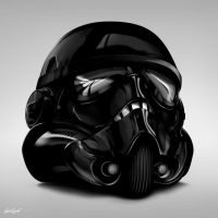 Black Stormtrooper by benskywalking