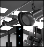 Radiant Track Head by WAC Lighting by Neon206