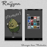 Stronger than Mustachio by Raijynn