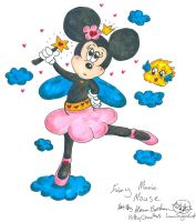 Fairy Minnie Mouse by Kittychan2005