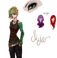 Skylar Character Bio by curiousSOUL