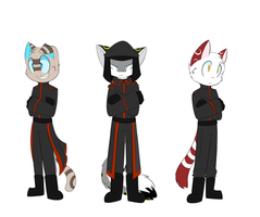 Qwuedeviv Officer Uniforms by SmilehKitteh