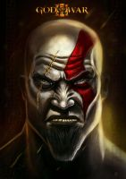 GOD OF WAR (kratos) by huzzain