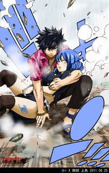 Gray Fullbuster . Juvia Loxar by icecream80810