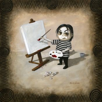 Timmy Painting by dienzo