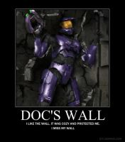 Doc's wall by Crosknight