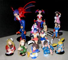 Capcom Girls Figure Collection by chloebs
