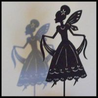 Fairy - Shadow Puppet by PaperTales