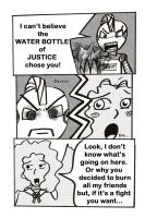 The Waterbottle of Justice 1-8 by MysticEden