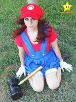 fem Mario Bros by Vicky-Redfield