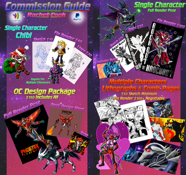 **Commission Guide** by Laserbot