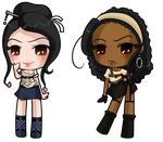Chibi Yumi and Brooke by Misical
