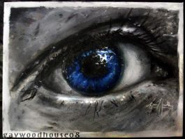 Blue Eye by gavwoodhouse