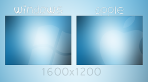 Windows or Apple - Minimal by leejuhn