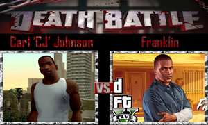 Carl 'CJ' Johnson vs Franklin by SonicPal