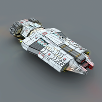 Starfarer ship design: Special Ops Destroyer by MaximilianYuen