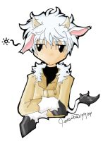 Cow Haru colored by jessisamess