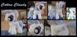 MLP: Cotton Cloudy Plush by ChibiTigre