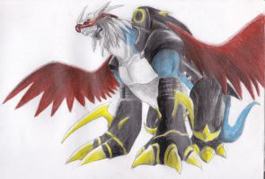 Imperialdramon by QueenTurchese94