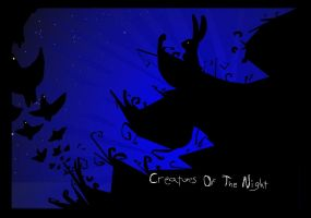 Creatures Of The Night - WP by croovman