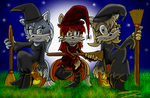 CE: 3 Wiked Witches by triplet99c