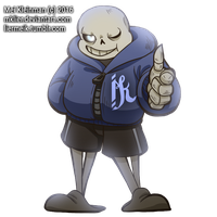UNDERTALE - Hands up by MKLier
