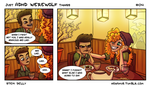 Just ADHD Werewolf Things #04 by Stefi-Delly