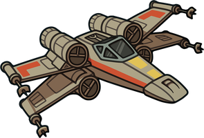 Commission: X-wing by irmirx