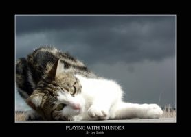 Playing with thunder by lmsmith