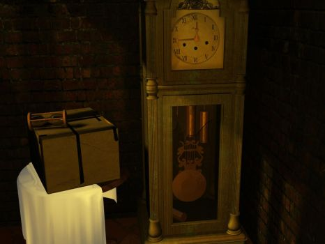 Grandfather clock by peroltz